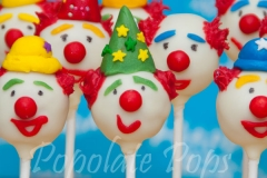 green-clown-cake-pops