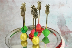 Mexican fiesta gold cake pops