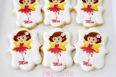 Fairy printed cookies