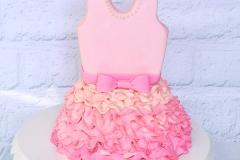 Ballet dress cake
