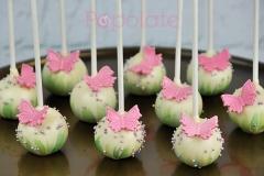 Fairy garden cake pops