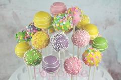 Pastel cake pop set