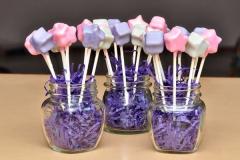 Stars cake pops