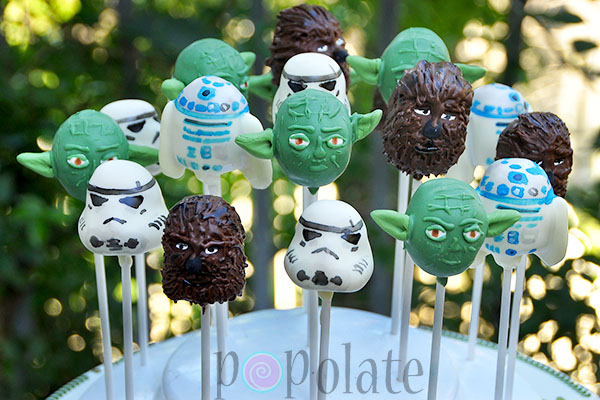 star wars cake pops search gallery popolate 7675