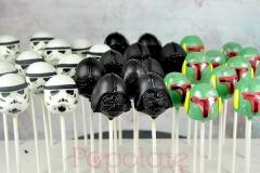 Darth Vader, Stormtrooper, Boba Fett