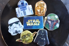 Star Wars printed cookies