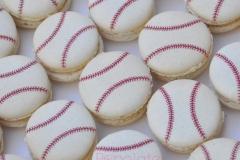 baseball macarons