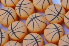 Basketball macarons