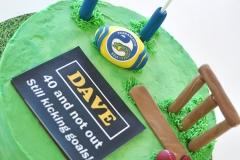 Cricket Eels Cake