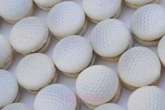 Golf ball macaron