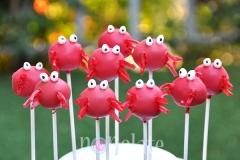 Crab cake pops