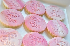 Personalised name cookies