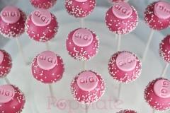 Name cake pops