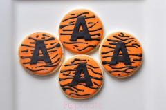 Tiger stripe cookies