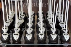 Groom cake pops
