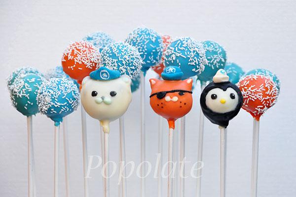 Octonauts Cake Pops Popolate