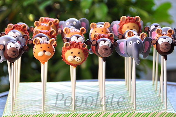 Animal Cake Pops Delivery