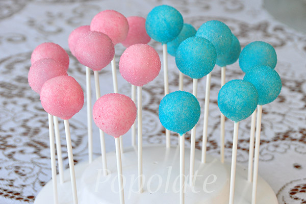 Baby Pink Cake Pops