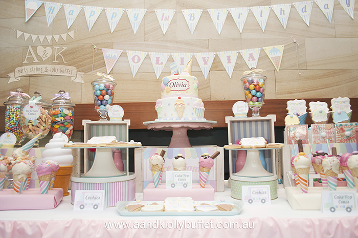 Ice Cream Cake Pops As Part Of A Lolly Buffet Popolate