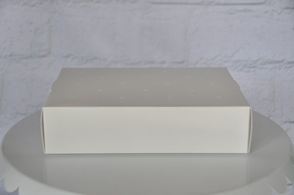 White cake pop stand disposable