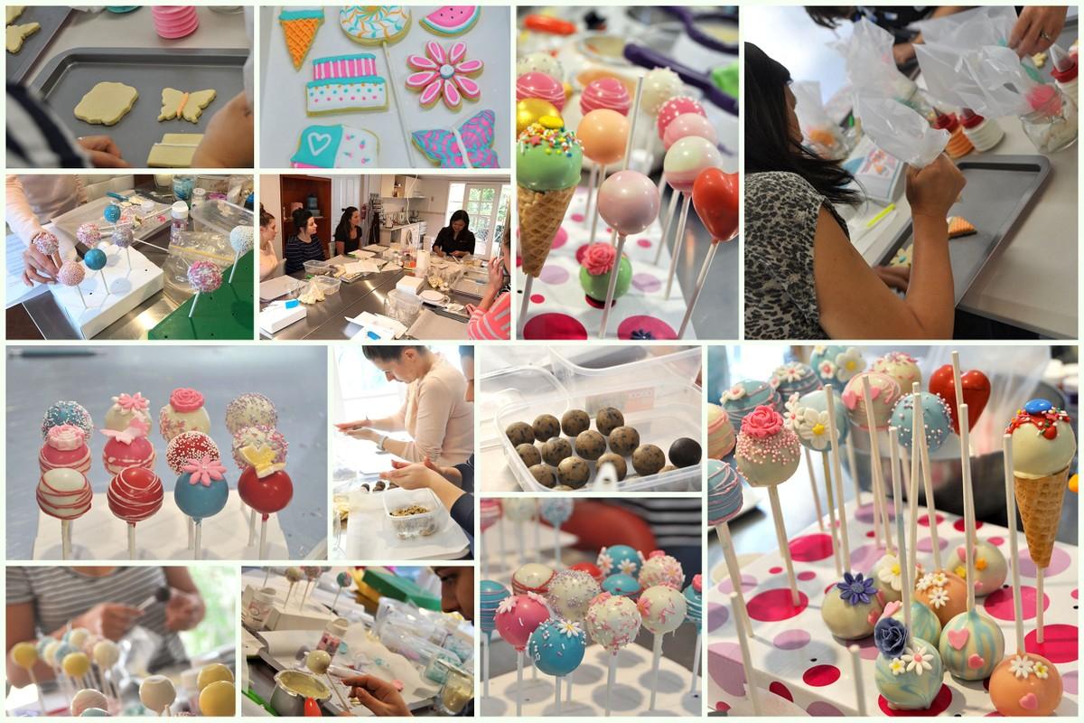 Cake pop cookie decorating class Sydney