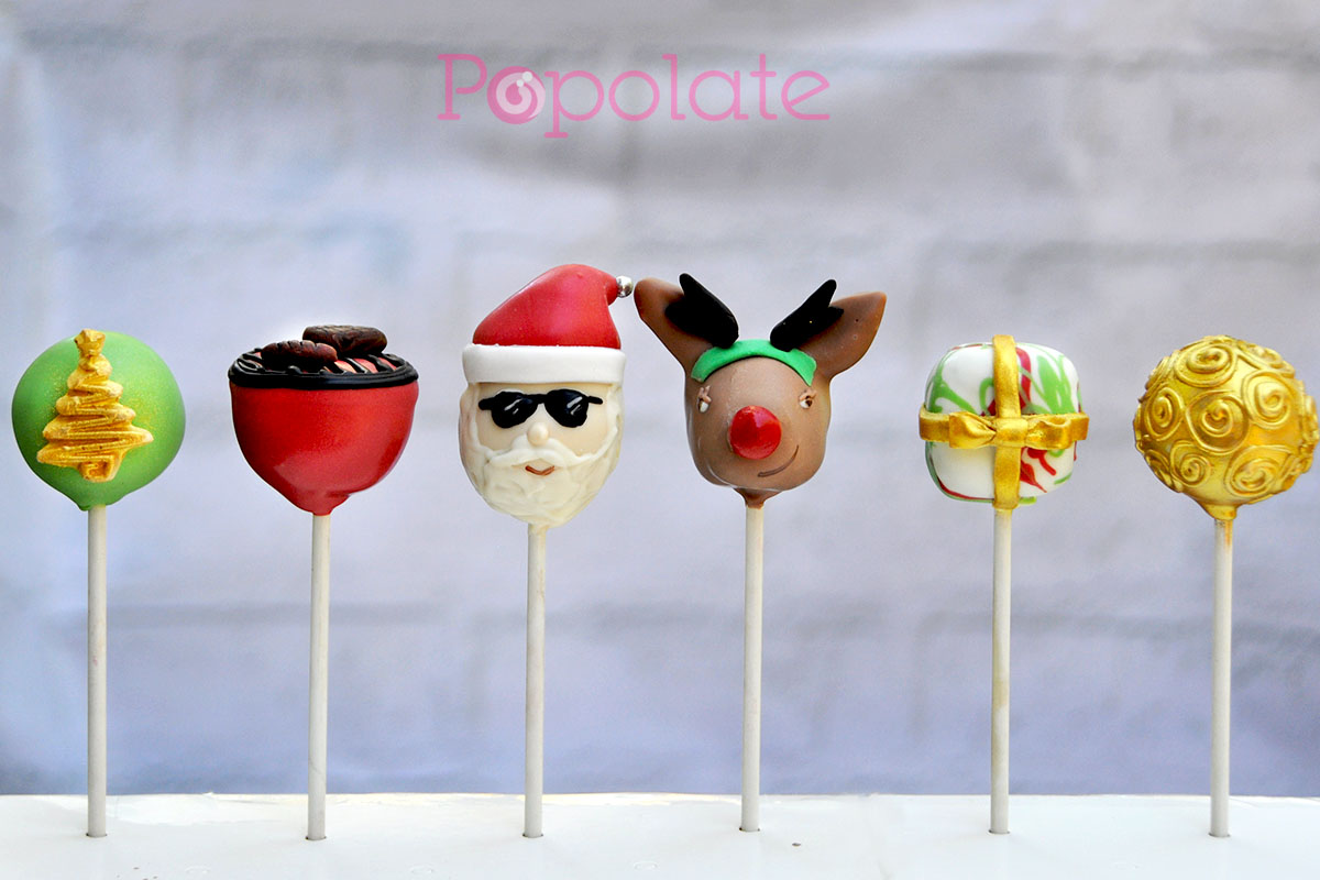 Aussie Christmas cake pops gift set 2016
