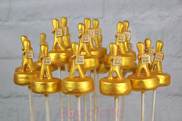 TV Week Logie award cake pops corporate