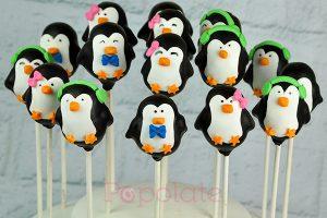 Sealife Sydney penguin cake pops