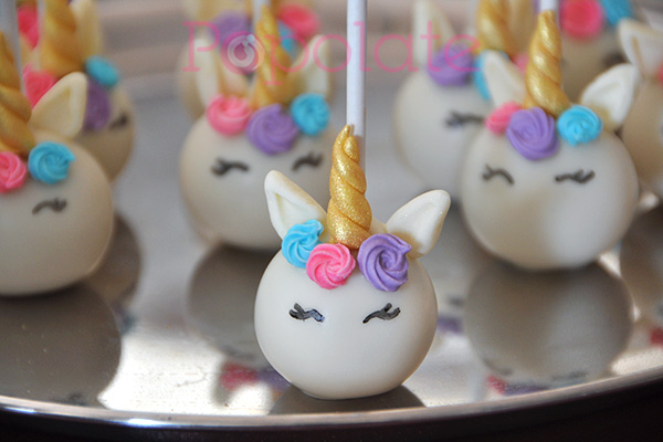 Unicorn cake pop mini class