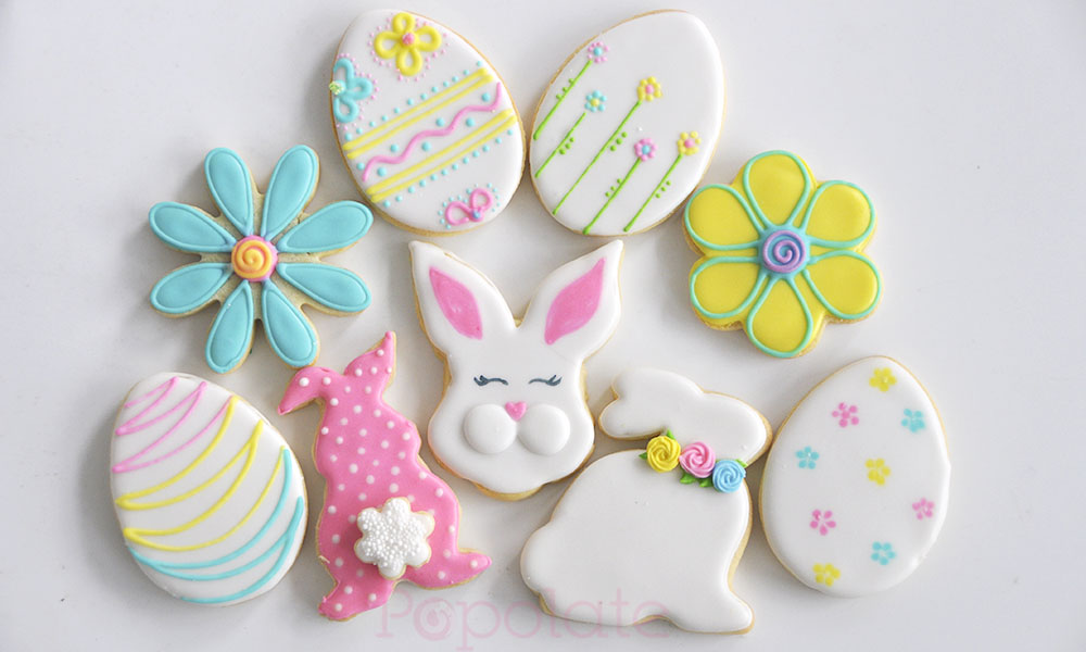 Easter Edition - Iced biscuit decorating class