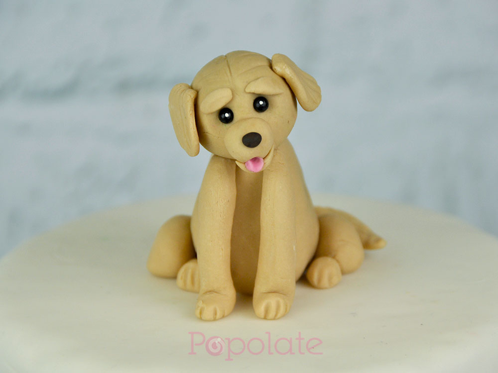Cute pup topper